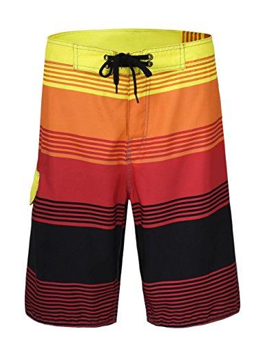 Nonwe Men's Board Shorts Summer Sea Vacation Swim Trunks 11910-40