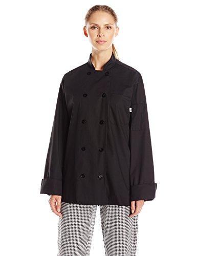 10 button unisex chef coat - 8