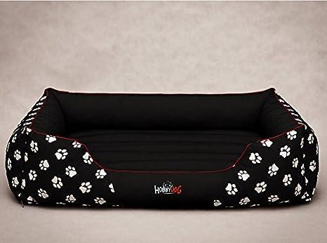 Hobbydog Cordura Prestige, Cama para Perro, Grande, Negro con Patas.: Amazon.es: Productos para mascotas