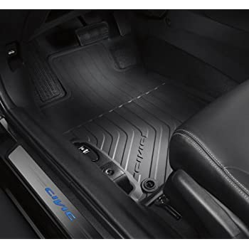 Amazing Honda Genuine Factory Black All Season Mats ( Complete Set Of Front And  Rear )