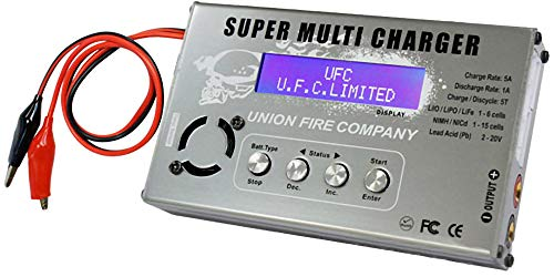 Evike Super Multi-Functional All Battery Type Charger/Balancer / Discharger by UFC by Evike
