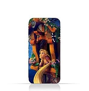 Sony Xperia Z5 Premium TPU Silicone Protective Case with Rapunzel Design