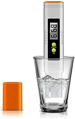 ... deporte guardiance comprobador de calidad del agua PH Con ATC, 0.01pH alta precisión, 1 – 14 pH Rango de medición para hogar agua potable, Acuario, ...