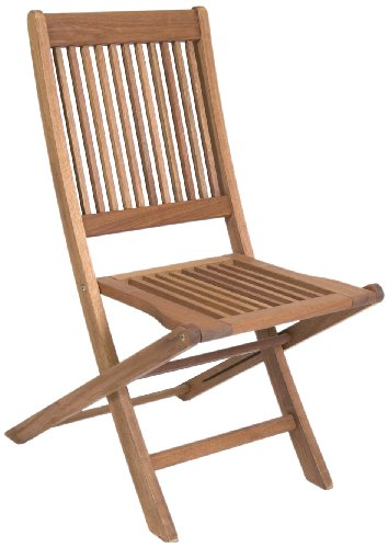Amazonia Ipanema 2-Piece Folding Eucalyptus Chair