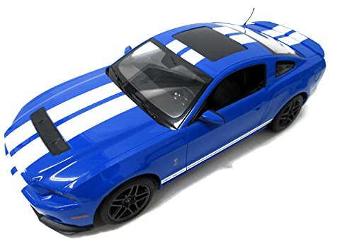 Radio Remote Control 1/14 Ford Mustang Shelby GT500 RC Model Car (Blue) ()