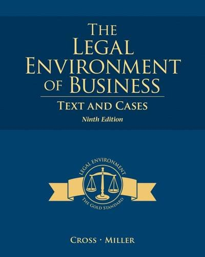 the-legal-environment-of-business-text-and-cases