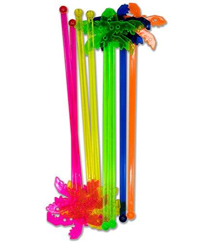 Chef Craft CHEF21825 Plastic Stirrer Palm Tree