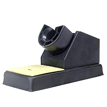 Calli Alta calidad soldador plataforma soporte de hierro del sostenedor del soporte: Amazon.es: Electrónica