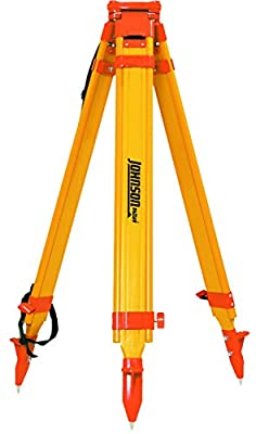 Johnson Level & Tool 40-6332 Fiberglass Tripod