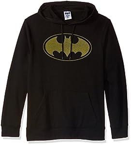 Batman Men's Fleece Pullover Hoodie at Gotham City Store