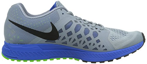 Nike 652925 003 Zoom Pegasus 31 Herren Sportschuhe - Running Mehrfarbig (MGNT GRY/BLCK HYPR CBLT ELCTRC)