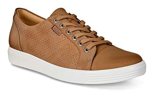 ECCO Women's Soft 7 Tie Fashion Sneaker, Lion, 35 EU/4-4.5 M US