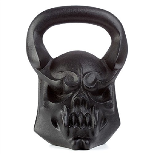 Demon Exercise kettlebell - Crossfit, HIIT kettlebell for Strength |  54 lbs Forearm & Fitness kettle Weights