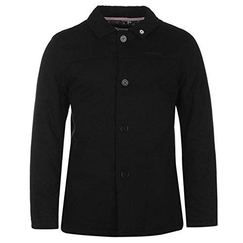 Lambretta Twill Veste pour homme Noir vestes manteaux Parka