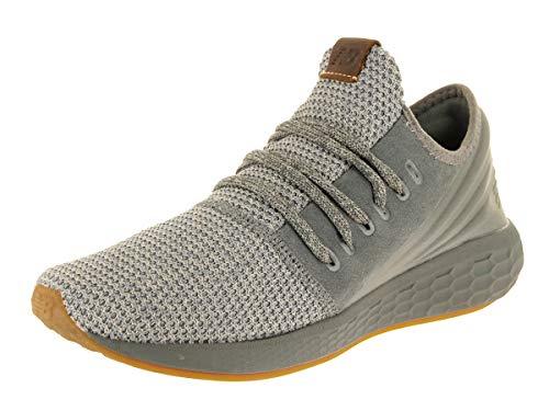 New Balance Men's Cruz V2 Fresh Foam Running Shoe, sedona sagestone grey, 11.5 D US