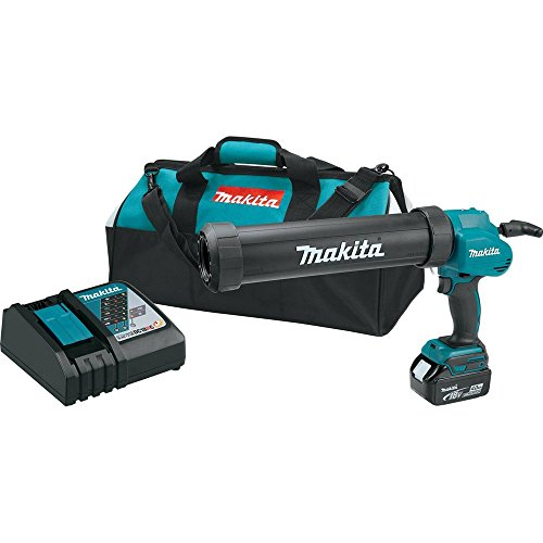 Makita XGC01M1C 18V LXT Lithium-Ion Cordless Caulk and Adhesive Gun Kit with One 4.0 Ah Battery, 29 oz (Discontinued by Manufacturer)