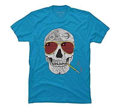 GONZO SKULL Men's Graphic T Shirt - Design By Humans