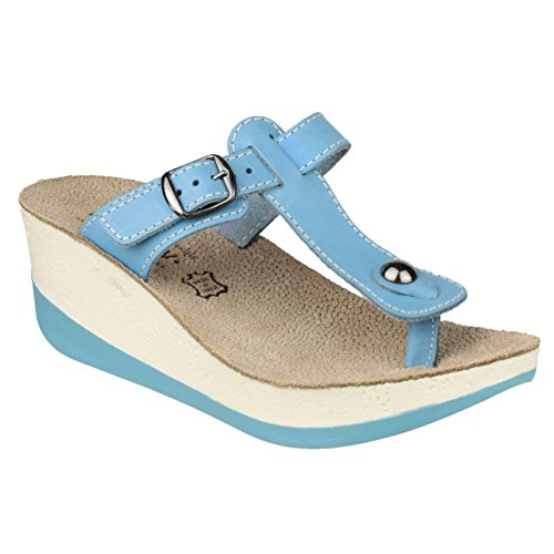 Fantasy Paxnos Mujeres Sandals Blue