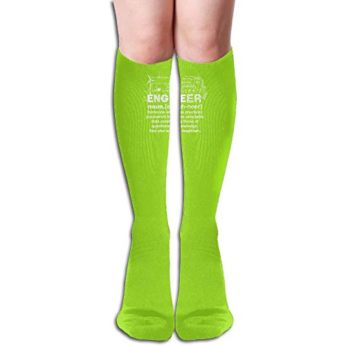 GUANJIANSHICAI Engineer Humor Definition Foot Socks Compression Socks (1 Pair) F