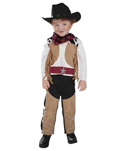Ride Em Cowboy Costumes (Infant & Toddler Boys Ride Em Cowboy Costume with Hat 12-24m)