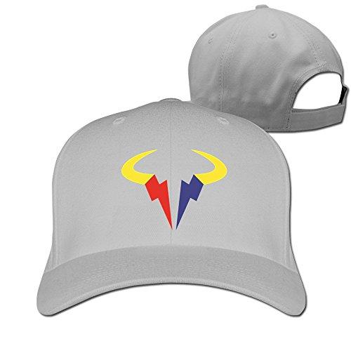 Rafa Logo gris thna Gorra ajustable Fashion Nadal TEwx6qYdx