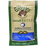 FELINE GREENIES SMARTBITES Hairball Control Treats for Cats Tuna Flavor 2.1 oz.