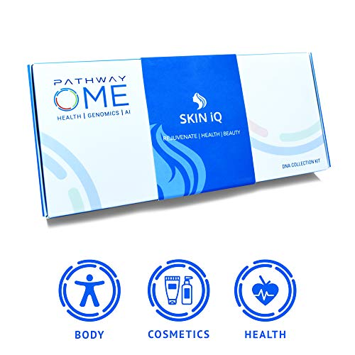 Pathway Genomics Skin iQ Home DNA Test – Gene-Based Personal Care Testing Kit for Glowing Skin – Discover Genetic…