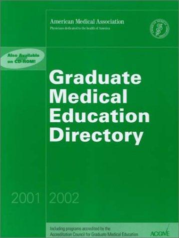 Graduate Medical Education Directory, 2001-2002