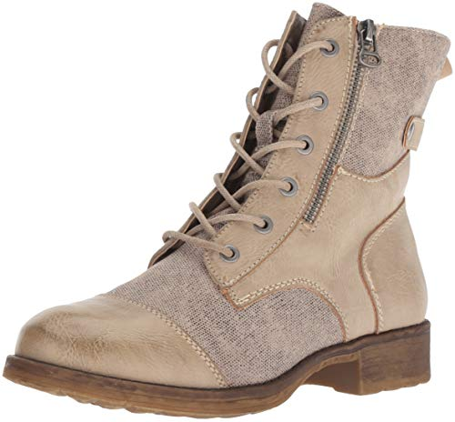 Tilley Dirty Combat Laundry Boot Canvas Women's Taupe qBP1wxRB