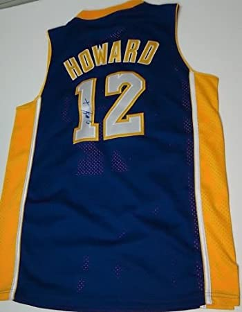 6380de00e Dwight Howard Signed  Los Angeles Lakers  Jersey -Comes with a Certificate  of Authenticity