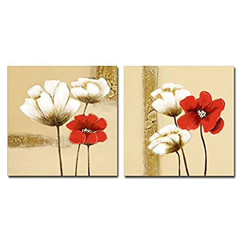 Set of Two Framed Wall Art for Bedroom: Amazon.com