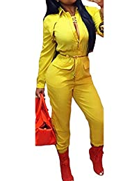 Amazon.com: Yellow - Jumpsuits & Rompers / Jumpsuits, Rompers ...