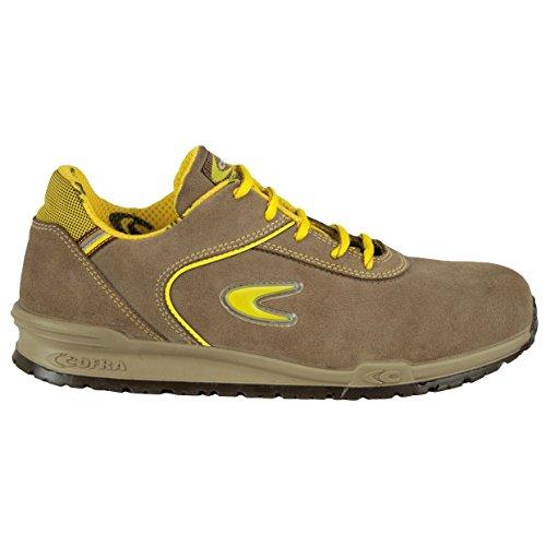 Cofra Schiavio S1P SRC par de zapatos de seguridad talla 46color caqui