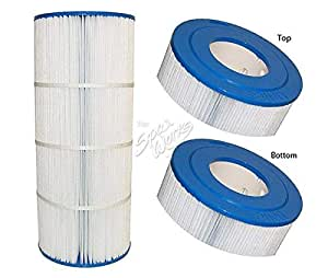 Hot Tub Classic parts Cal Spa 75 Sq Ft 17 Inch T Replacement Filter Cartridge Calfil11100080
