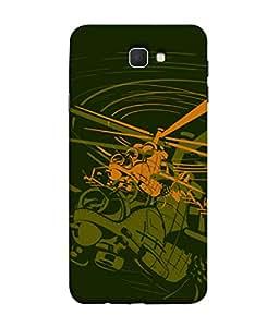 ColorKing Samsung J5 Prime Case Shell Cover - Chopper Multi Color