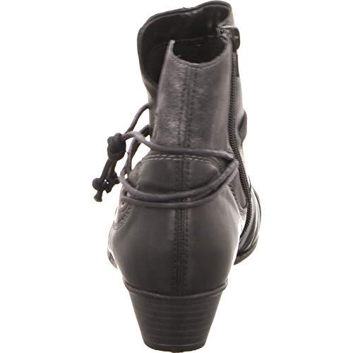 Remonte Noir Bottes D7368 Pour 01 Femme rXrq8H
