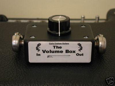 Carl's Custom Guitars Volume Box Guitar Amp Attenuator/Power Soak/Plate/Mass/Hot/Pad