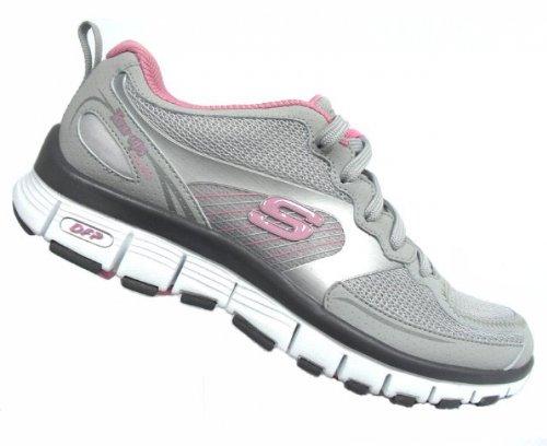 Skechers–Zapatos ton–UPS, mujer, gris, 4 UK gris