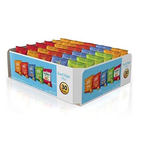Sunchips Multigrain Chips Variety Pack, 30 Count ()