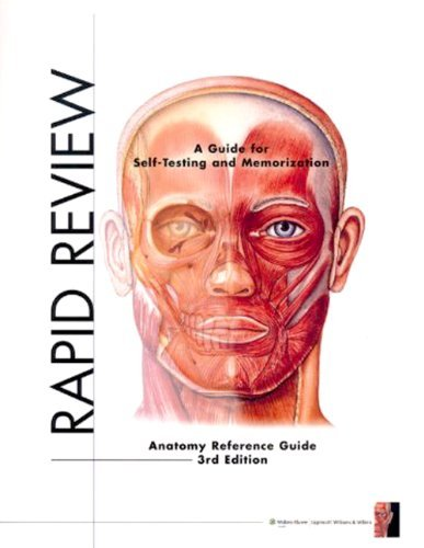 Rapid Review: Anatomy Reference Guide 3th (third) edition