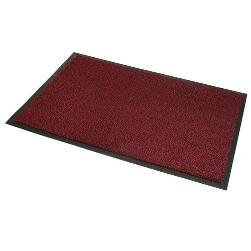 Extreme® Schmutzfangmatte – mehrere Größen erhältlich – Rot Schwarz – MELIERT (120 x 170 cm)