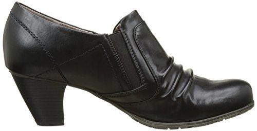 24460, Mocasines para Mujer, Negro (Black), 41 EU Soft Line