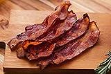 Greensbury - 48 Slices Applewood Smoked Organic Bacon - Sliced, Uncooked, USDA Certified Organic