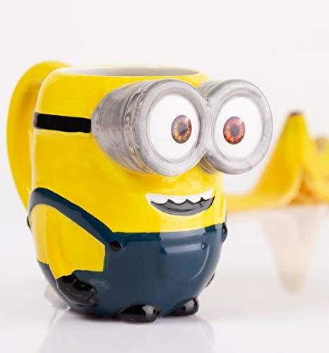 TruffleShuffle Minions 3D Bob Mug With Scented Charm -
