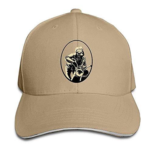 JHDHVRFRr Hat Sloth Cool Denim Skull Cap Cowboy Cowgirl Sport Hats for Men Women