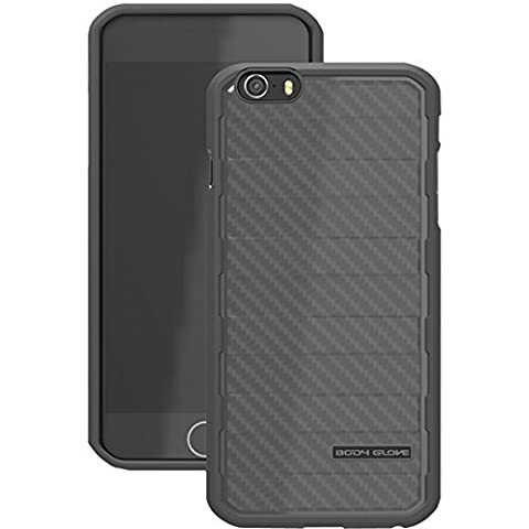 Body Glove Rise Case for iPhone 6 4.7-Inch - Retail Packaging - Black (Body Glove Suit Up Phone Cases)