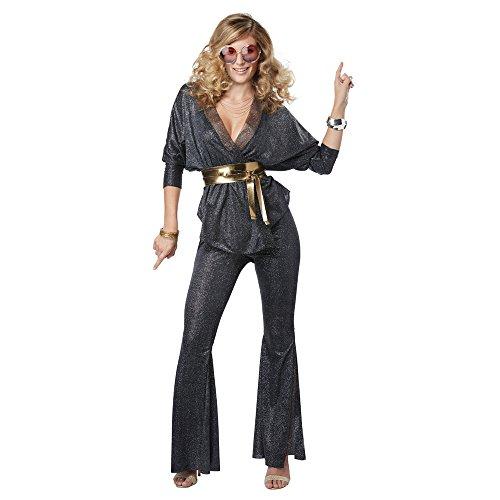 70s Costumes Womens - Womens Disco Dazzler 70s Costume size Medium 8-10