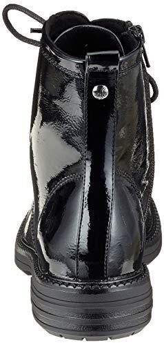 18 black Nero 21 25241 Combat 018 S oliver Patent 5 5 Stivali Donna x7qwnUO4RW