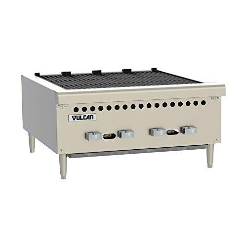 (Vulcan VCRB25 Charbroiler gas countertop 25-3/8