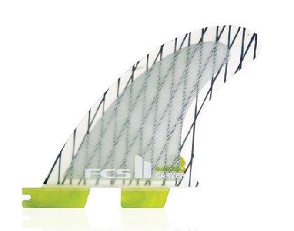 FCS II Carver Performance Core Carbon Quad Rear Surfboard...